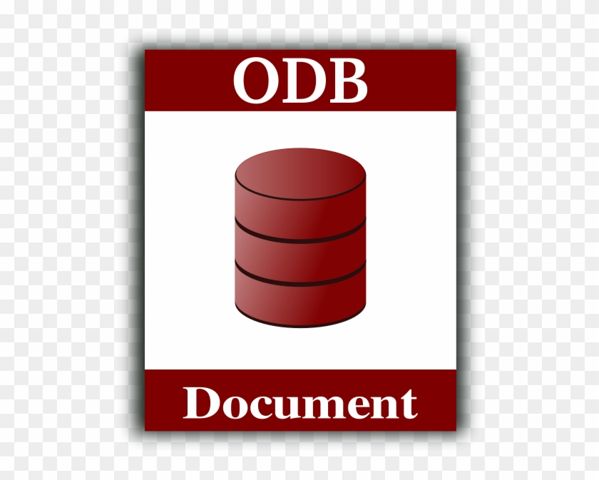 Database Icon Png Images - Icono Del Documento De Texto Open Office #218869