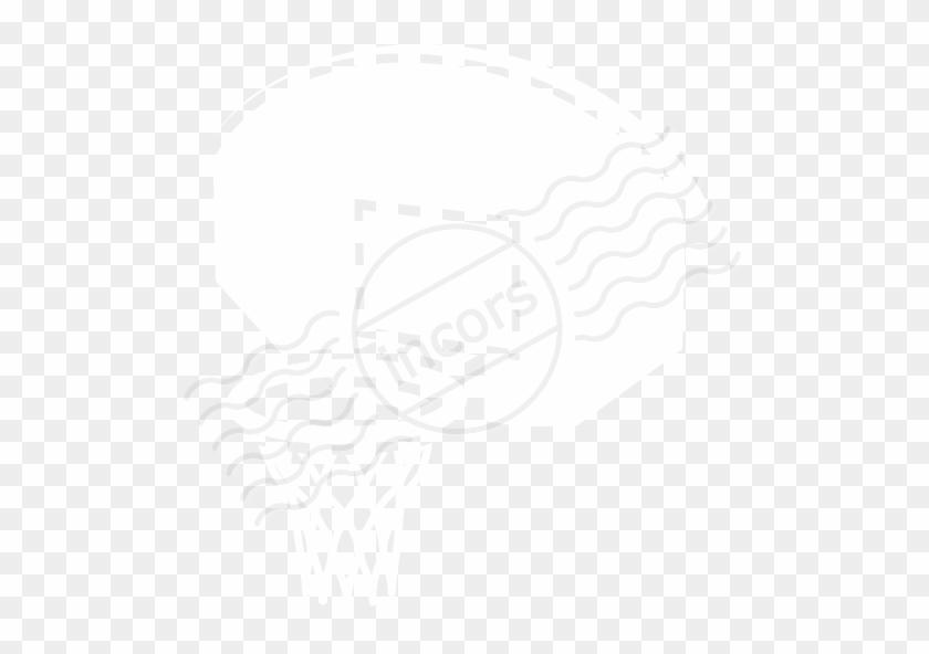 Basketball Net Clip Art - Clip Art #218983