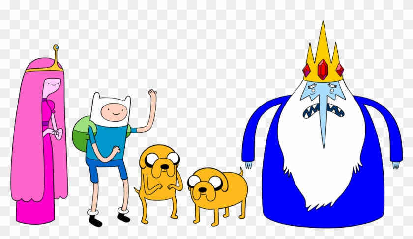 46 Images About Cartoon Png On We Heart It - Adventure Time Princess Bubblegum And Ice King #218993