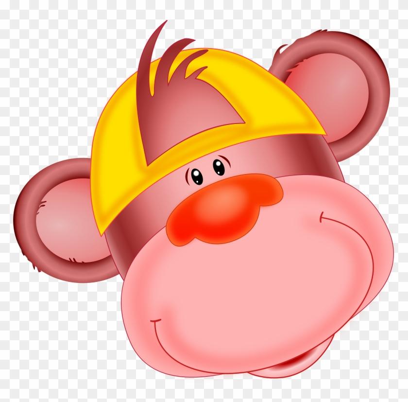 Monkey, Anthropoid, Ape, Animal, Zoo - Cartoon Monkey With A Hat #219024