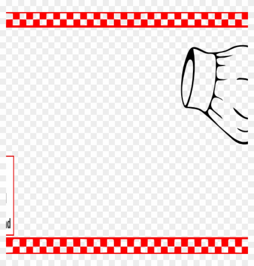Cooking Border Clip Art Cooking Border Clip Art Cooking - Chef Hat Clip Art #1389535