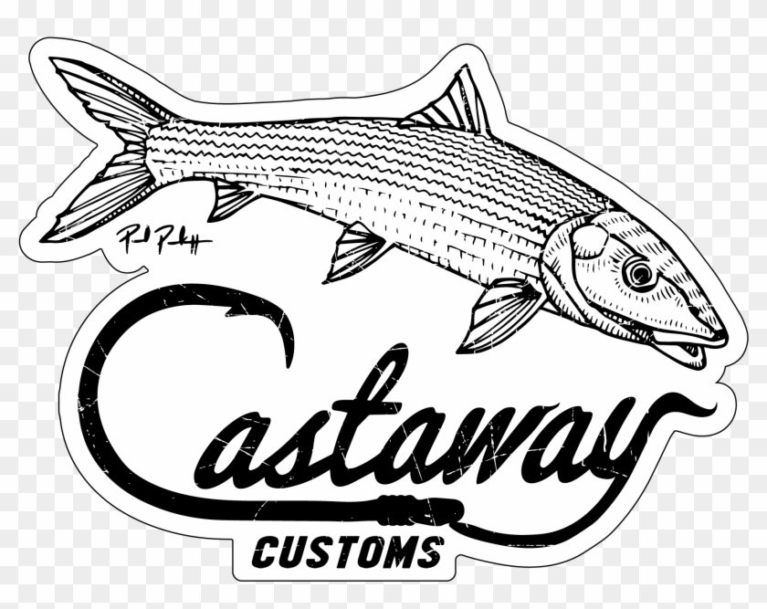 Redfish At Getdrawings Com Free For Personal - Bonefish Drawing #1390441