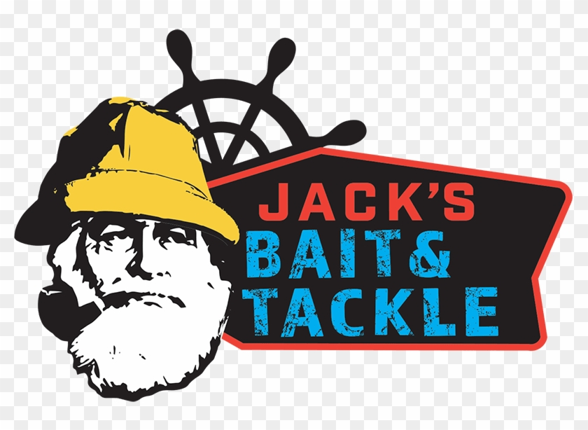 Jack's Bait & Tackle - Bait And Tackle Logo #1390622