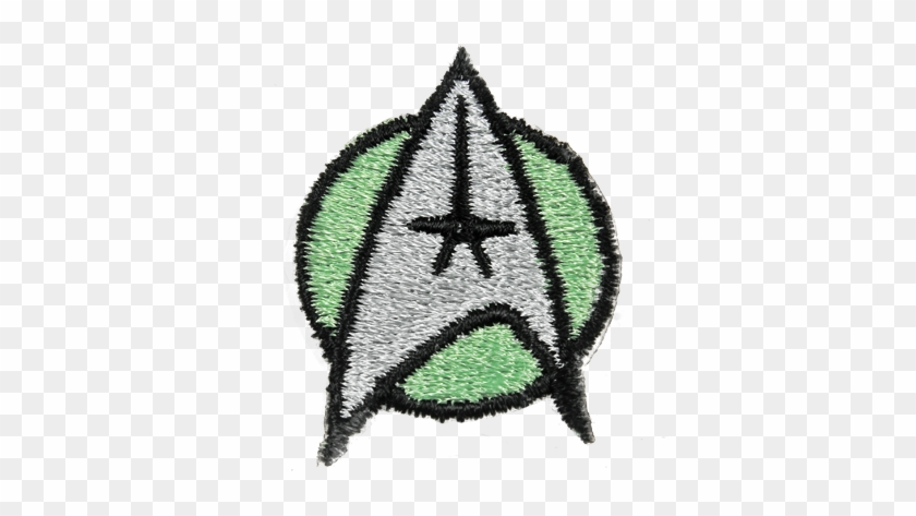 Medical Insignia Authentic Design Detailed Embroidery - Star Trek The Motion Picture Green Medical Patch #1391142