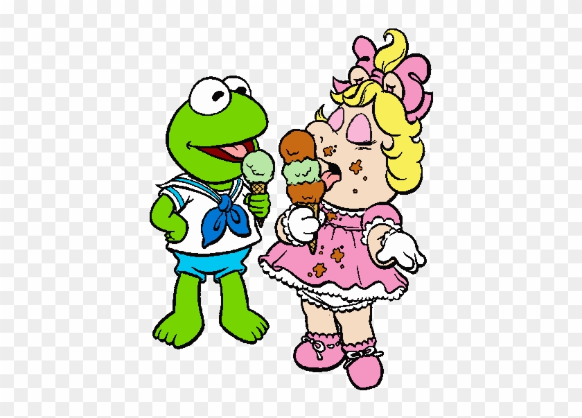Muppet Babies Clipart Kermit And Miss Piggy Cartoon Free Transparent Png Clipart Images Download