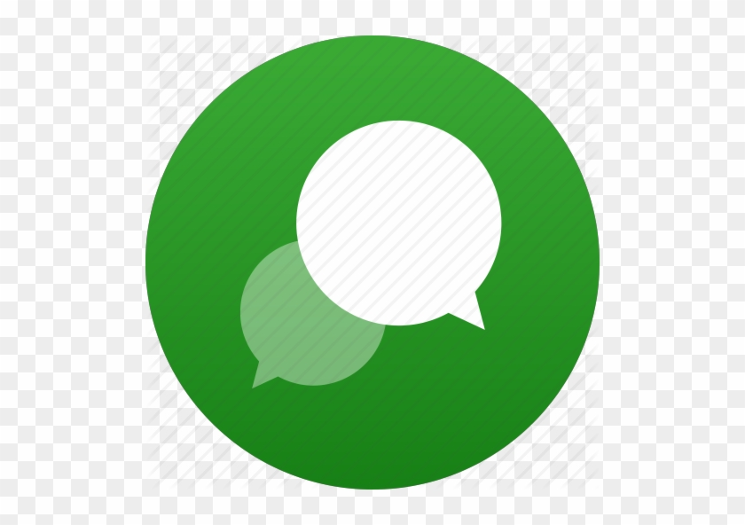 Message Clipart Dialogue - Discussion Icon Green #1391258