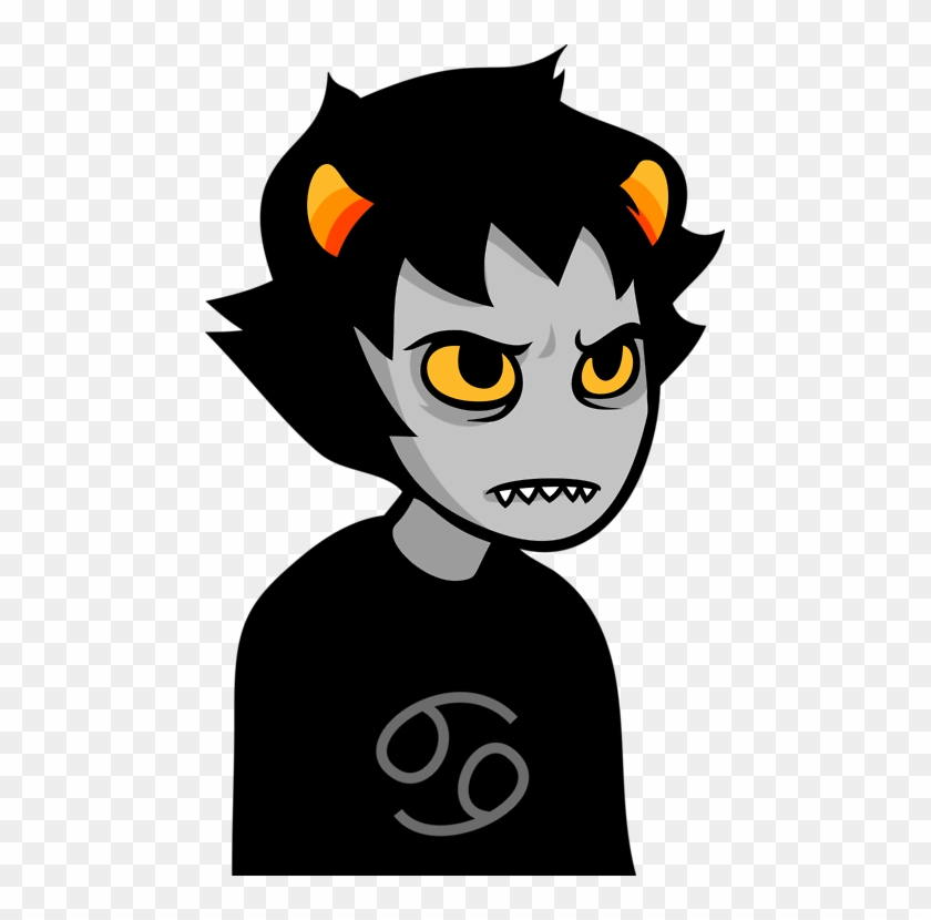 Homestuck Clipart Angry Karkat Talksprite Free Transparent Png