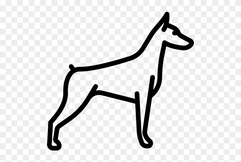 Doberman Png File - French Bulldog Icon Png #1392546