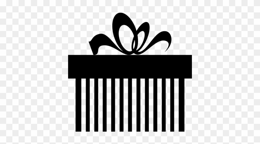 Giftbox Striped With Ribbon Vector Png Gift Box Logo Free Transparent Png Clipart Images Download