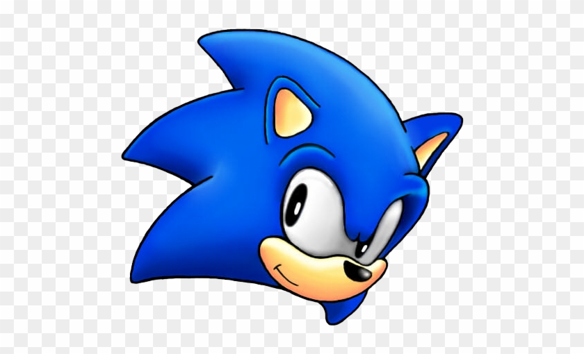 Sonic The Hedgehog Head Png