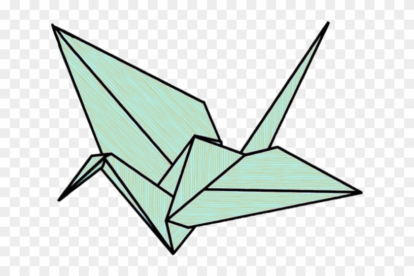 Origami Crane Drawing Free Transparent Png Clipart Images Download