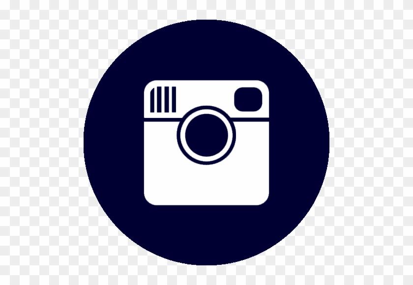 Instagram Logo Circle Red #1396591