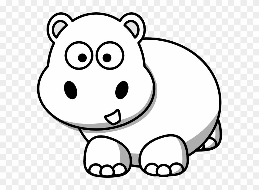 Hippo clip art free vector | Download it now!