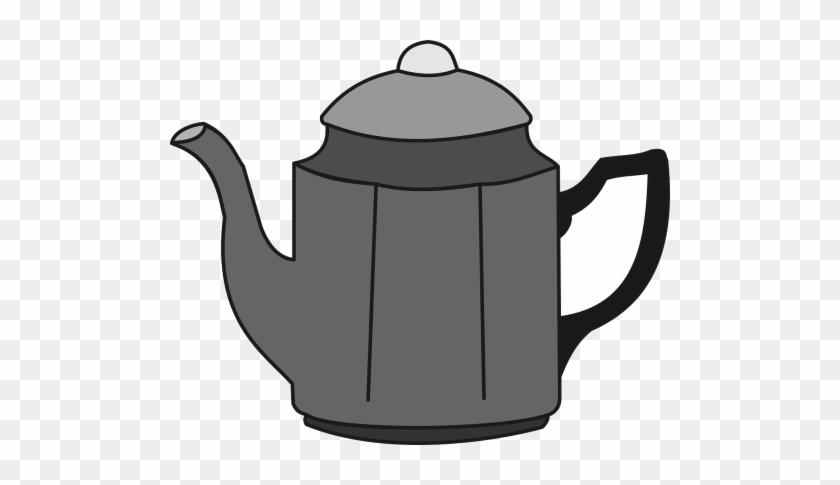 Coffee Pot,tea - Clipart Coffee Pot #1397057