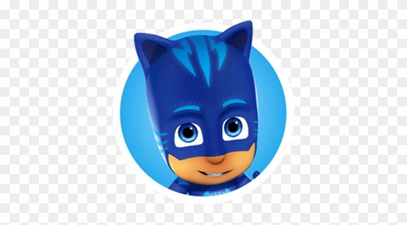 Pj Masks Catboy Roundlet - Pj Masks Catboy Face #1397520