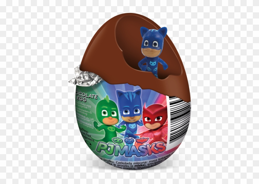 Pj Masks Chocolate Egg 03 - Pj Masks Bumper Puzzle Pack #1397538