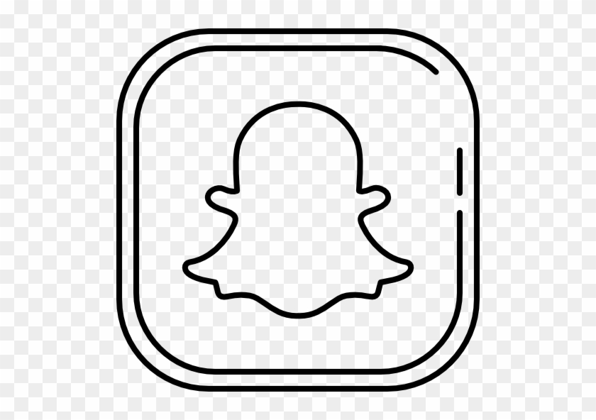 Snapchat Free Vector Icon Designed By Roundicons - Snapchat