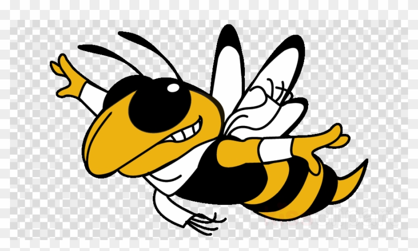 Flying Yellow Jacket Clipart Georgia Institute Of Technology - Flying Yellow Jacket #1399414