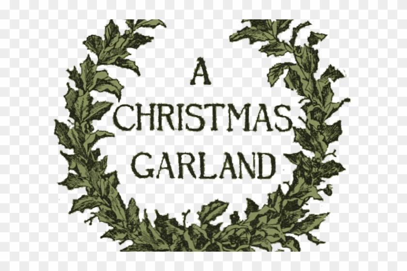 Garland Clipart Vintage Transparent Christmas Garland Clipart