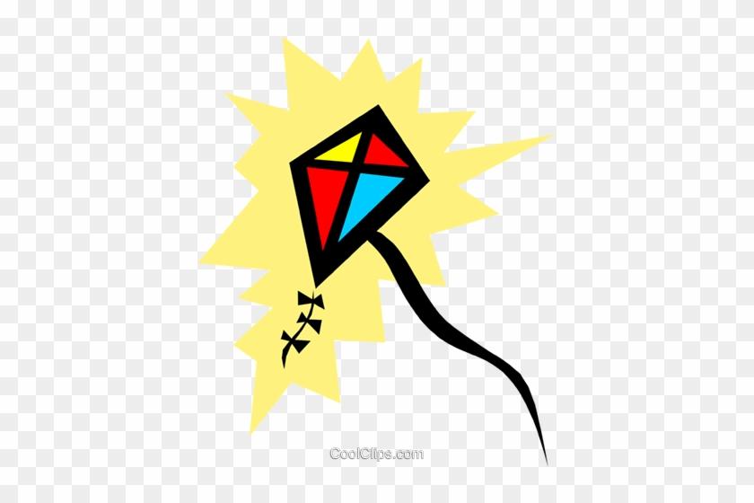 Kite Royalty Free Vector Clip Art Illustration Cartoon Kites