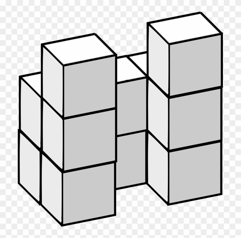 Find The Area Of A Rectangle Three-dimensional Space - Cube #1401857