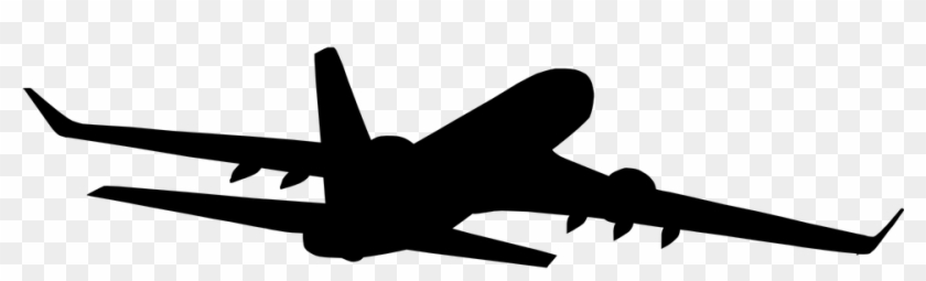 Aircraft Vector Silhouette Clipart Freeuse Library Airplane