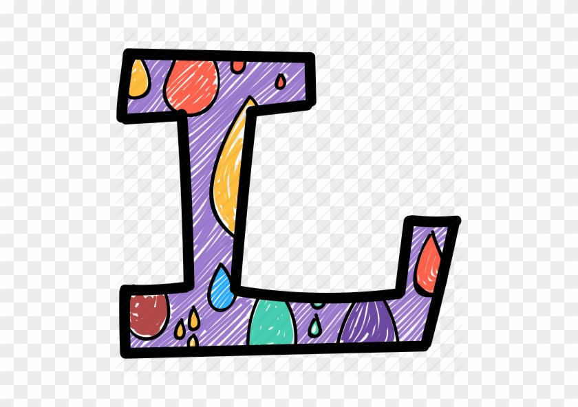 The Letter L Png - Capital Letter Colorful Alphabet #1402678