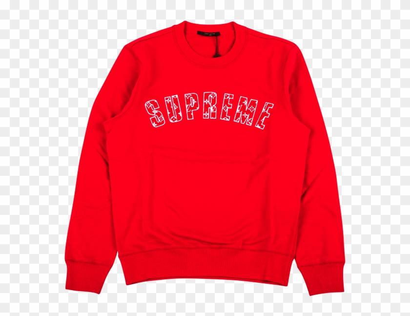 Transparent Supreme Louis Vuitton Supreme X Louis Vuitton Sweater