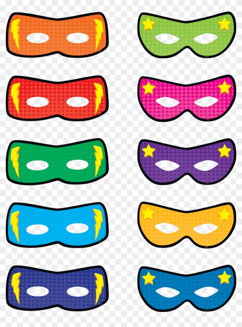 image about Free Printable Superhero Mask referred to as Superhero Masks Clip Artwork Clipart Superhero Mask Clip - No cost