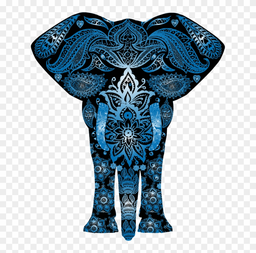 All Photo Png Clipart - Colorful Elephant #1403009