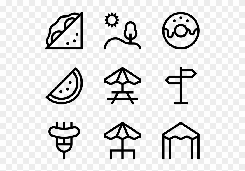 Picnic - Food Icons Png #1403372