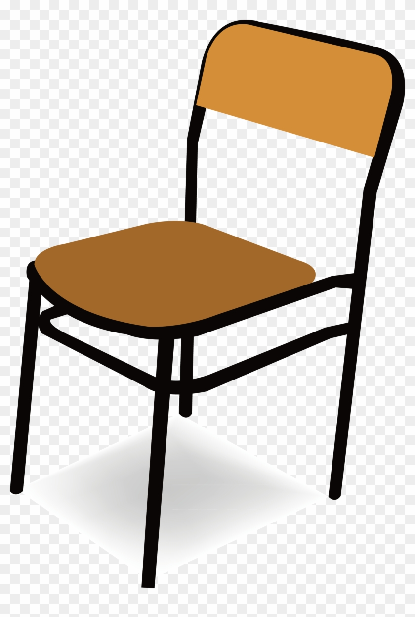 Chair Clip Art Mesmerizing Classroom Table And Chairs - School Chair Clip Art #1404447