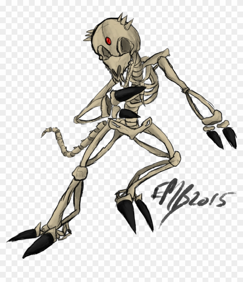 Spooky Scary Skeletons Png Clip Art Freeuse Download - Halloween Spooky Scary Skeletons Drawings #1405749