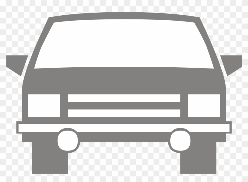 Car Silhouette Front At Getdrawings - Fire Brigade #1405773