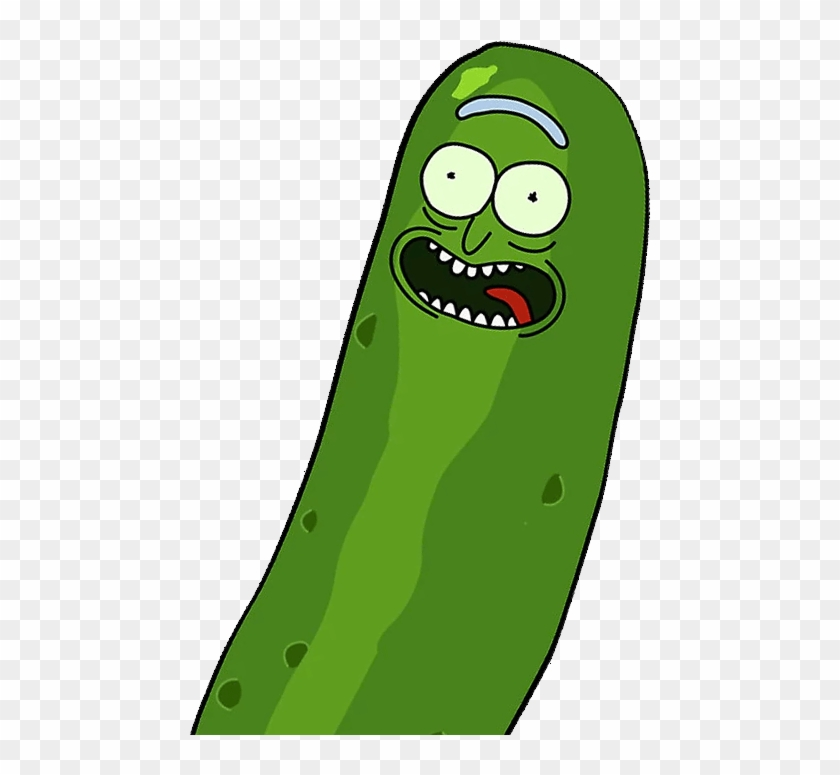 Cucumber Clipart Pickle - Rick And Morty Pickle Rick Png #1406621