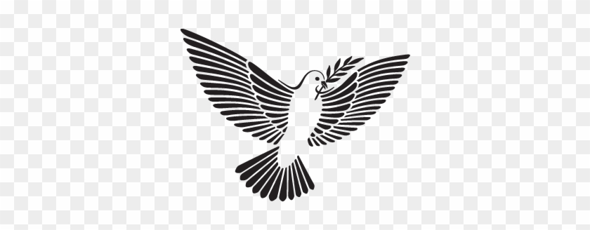 Dove with olive branch | Free SVG
