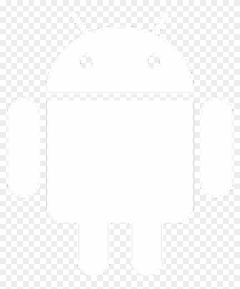 Download Android App - Android Symbol White Icon #1408314