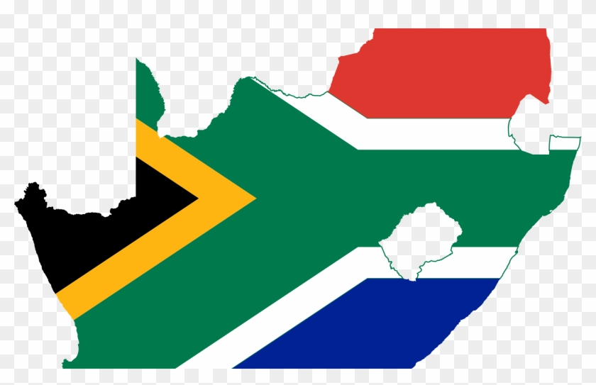 Grilling Clipart Braai South African - South Africa Flag Clipart #1409058