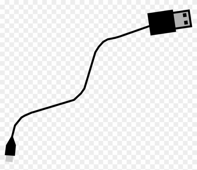 Ac Adapter Micro-usb Electrical Cable Computer Icons - Usb Cable Icon Png #1409434