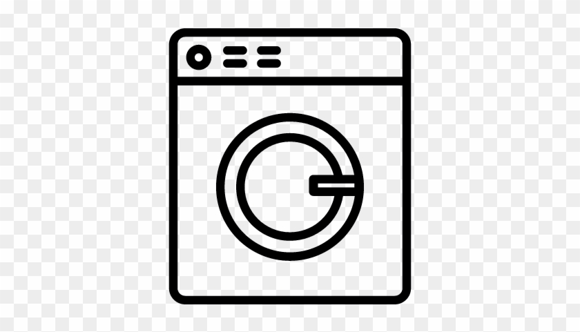 Laundry Machine Vector - Laundry Icon Png White #1409786