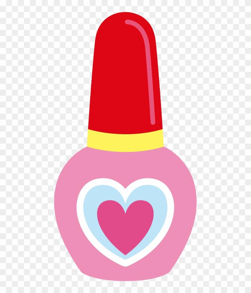 Meninas Minus Makeup Nail - Spa Party Dibujos #1410339