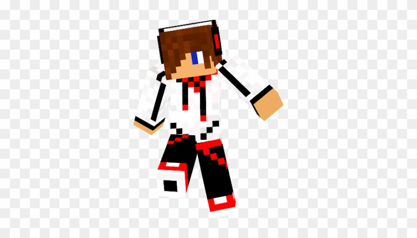 COOL BOY MINECRAFT SKINS TEMPLATE - Custom Skin for Capes