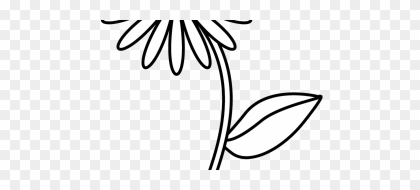 Clip Library Stock Flower Shop Near Me How To Draw Simple Flower Line Drawing Free Transparent Png Clipart Images Download