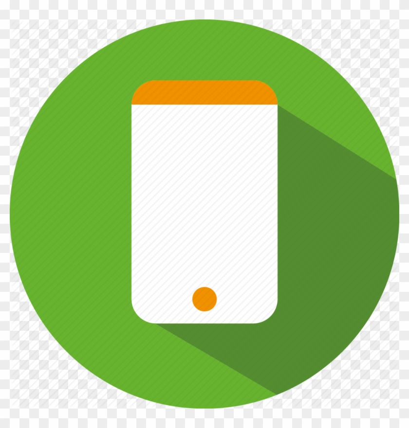 Green Mobile Phone Clipart Icon - Cell Phone Icon Green #219076