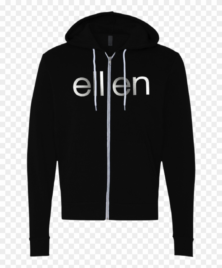 Ellen Show Be Kind Zip Hoodie- Black - Kane Brown Jacket #219212