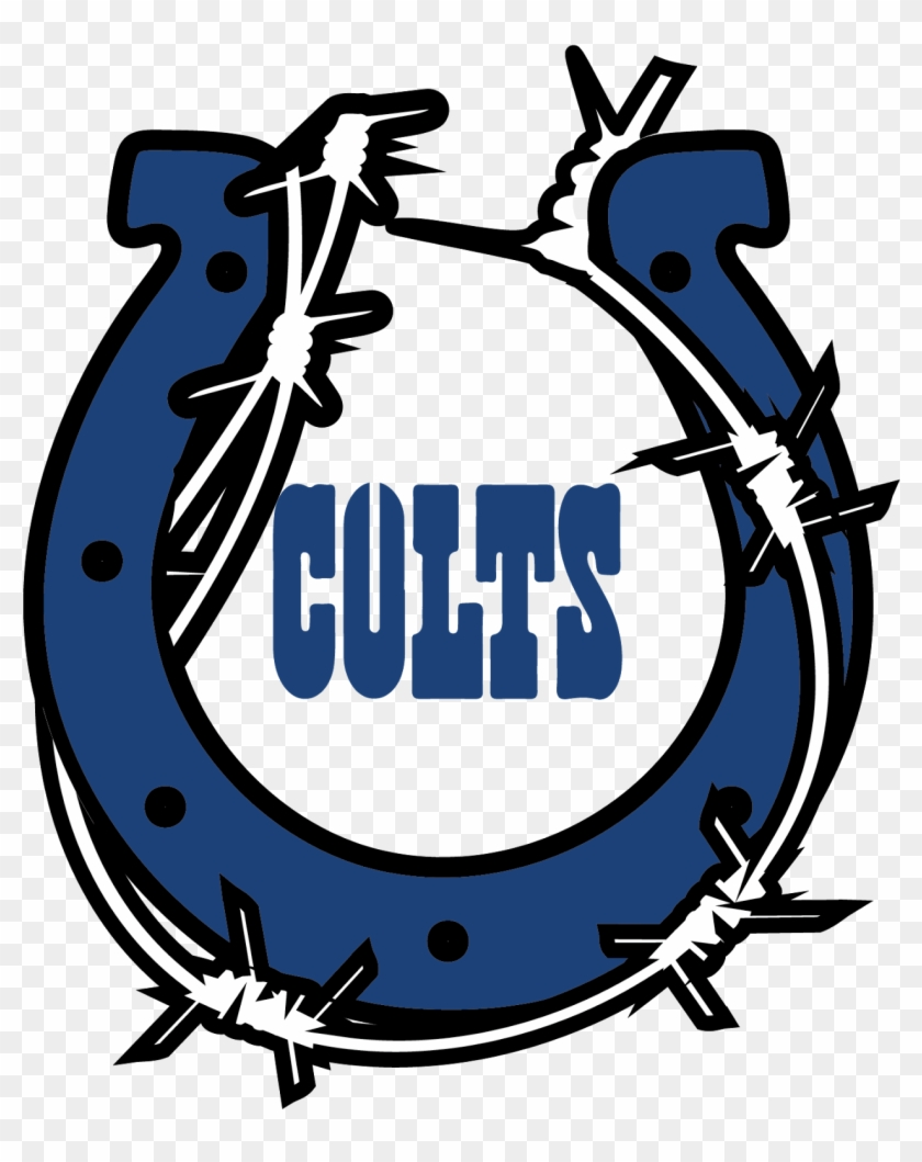 Awesome Indianapolis Colts Logo Clip Art Medium Size - Indianapolis Colts 2014 Logo #219392
