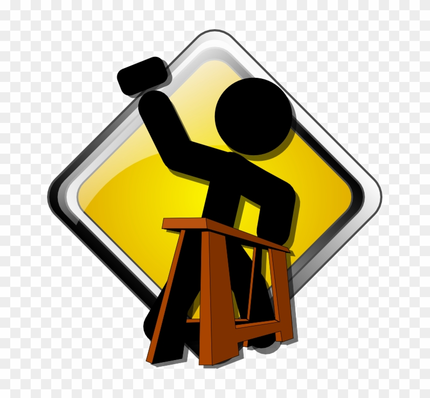 Pix For Construction Sign Png - Under Construction Free Icon #219471
