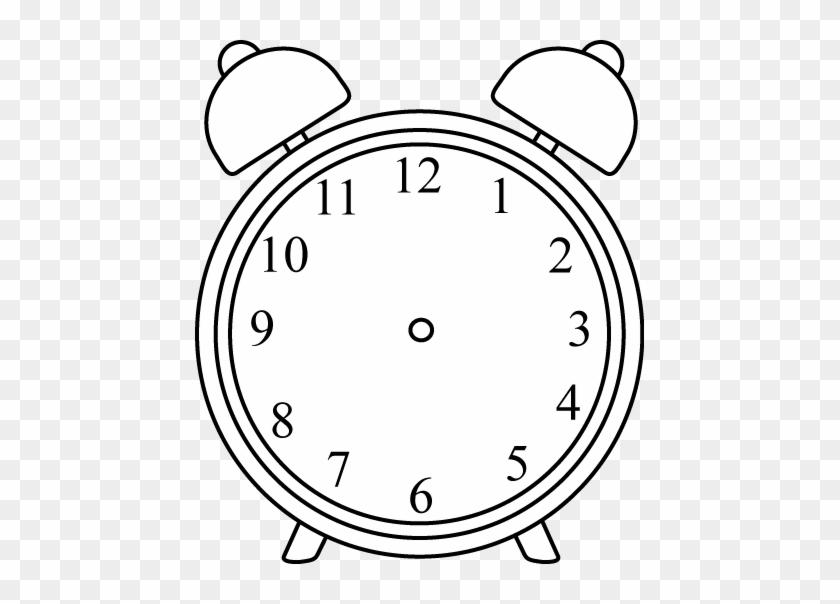 Clock Without Hands Desenho De Relogio Para Colorir Free