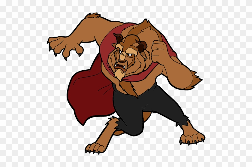 Beast Clipart Muscle - Beauty And The Beast Beast Png #219770
