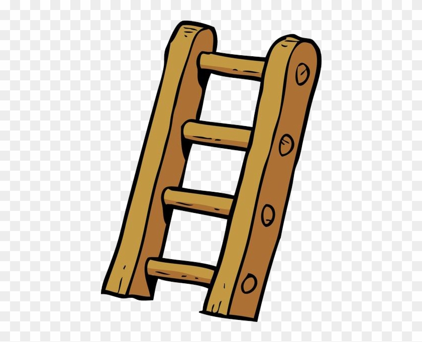 Cartoon Ladder Illustration Stair Cartoon Free Transparent Png Clipart Images Download